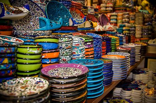 Cerámica en el Gran Bazar de Estambul @bigdani