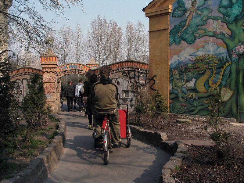 Puerta de entrada en Christiania