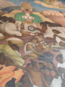 Quetzalcoatl de Diego Rivera ampliado