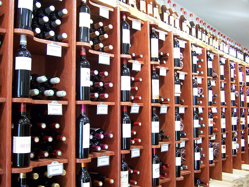 Tienda de vinos en Saint Emilion @3viajes
