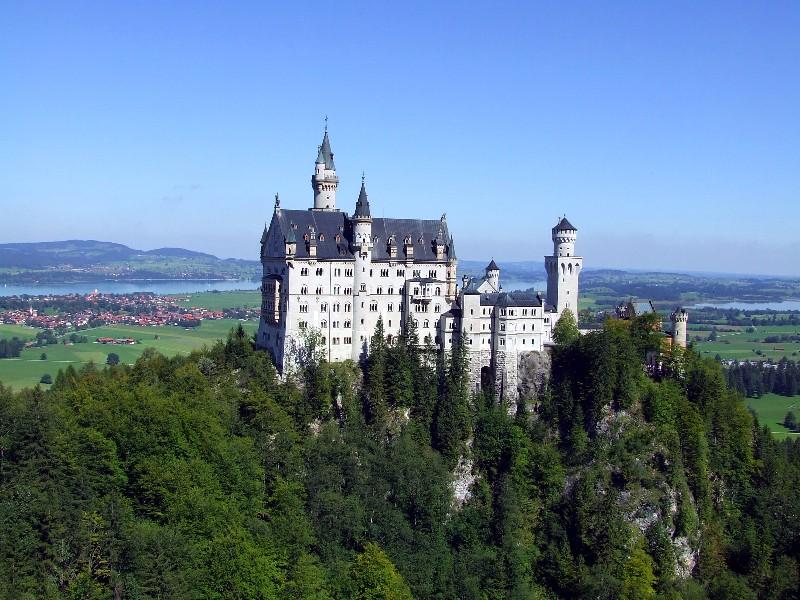 El castillo de Neuschwanstein @ Panoramio