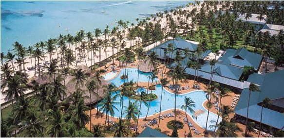Hotel todo incluído en el Caribe