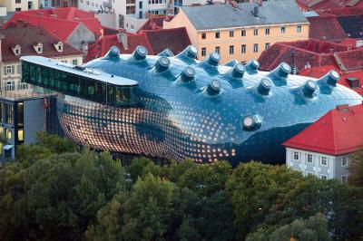 Museo de arte contemporaneo Kunsthaus Graz