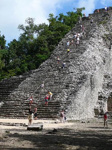 Pirámide de Cobá