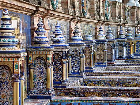Azulejos de la Plaza de España (Sevilla)