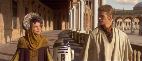 Star Wars en la Plaza de España de Sevilla