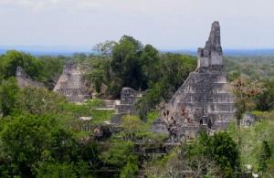Las ruinas de Tikal