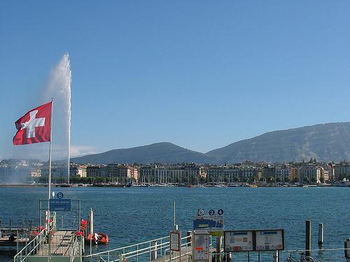 Jet d'eau del lago Léman @ ulfklose flickr