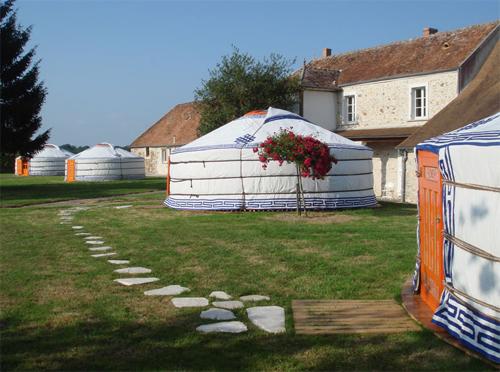 Yurta mongol en Francia