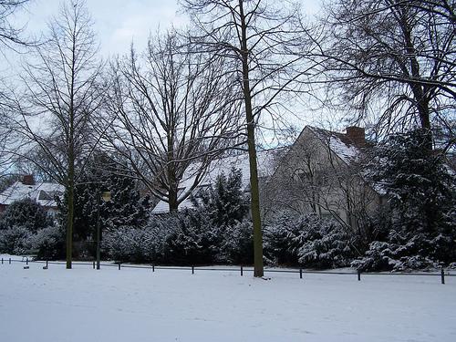 Parque de Tiergarten en Berlin