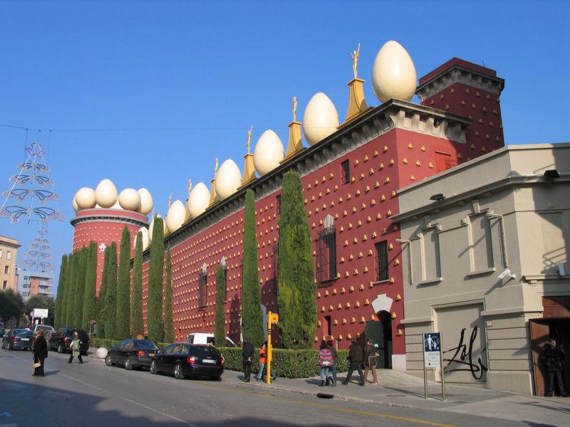 Museo Teatro de Salvador Dalí en Figueres