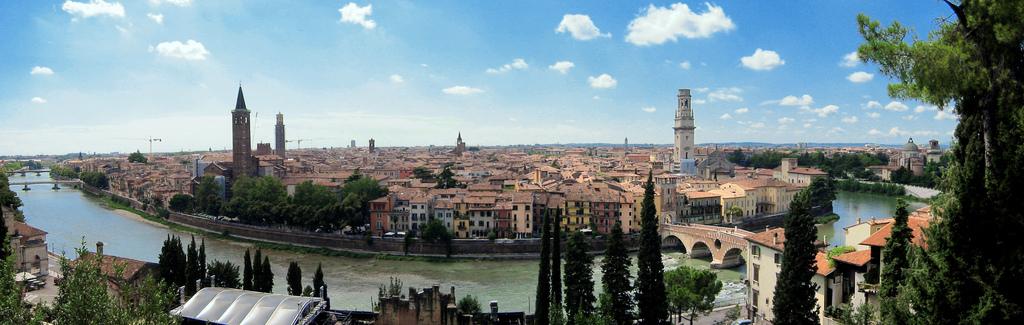 Vista panorámica de Verona