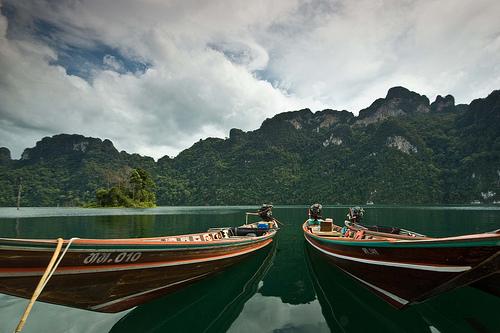 Long tail boat (en Tailandia) @René Ehrhardt