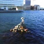 La nueva sirenita de Copenhaguen