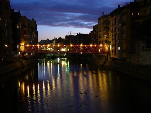 El puente Eiffel de Girona