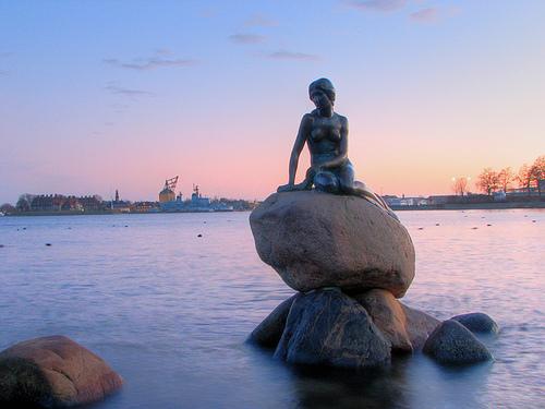 La sirenita de Copenhaguen