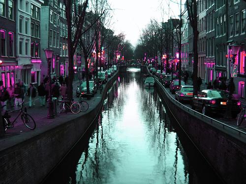 Barrio Rojo de Amsterdam