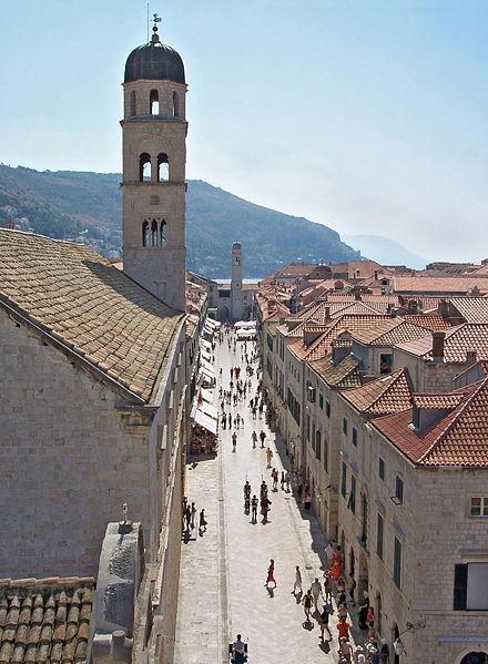 Calle principal de Dubrovnik