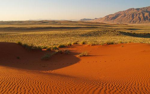 Desierto rojo de Namibia
