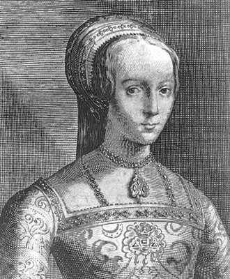 Lady Jane Grey, por Van de Passe