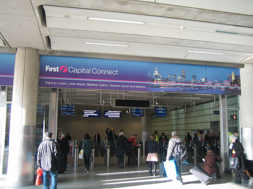 Aeropuerto de Luton, información de trenes a Londres