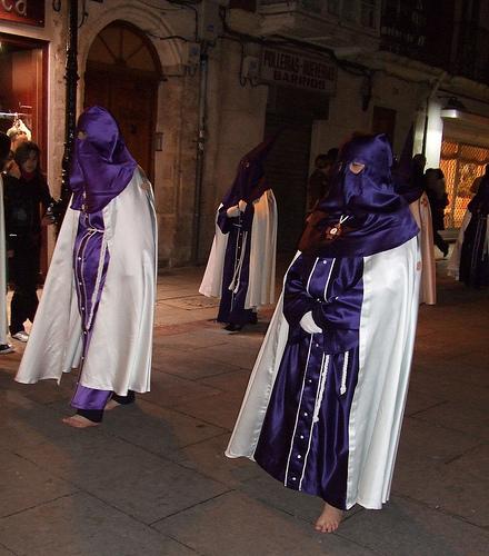 Procesión de Semana Santa en Burgos