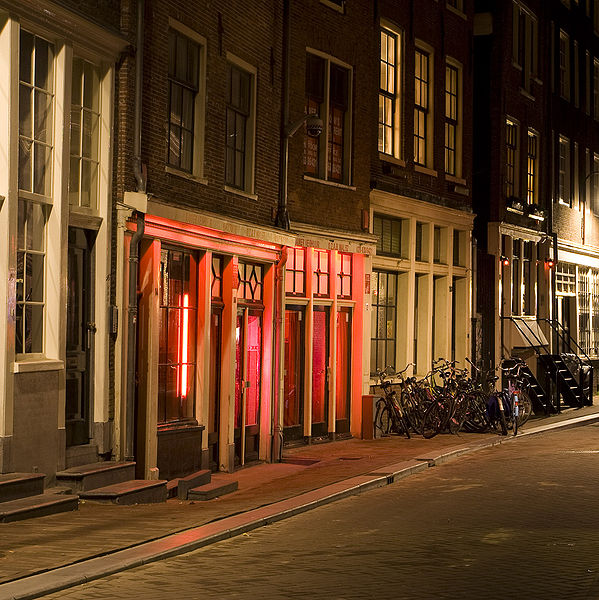 Red Light District de Amsterdam