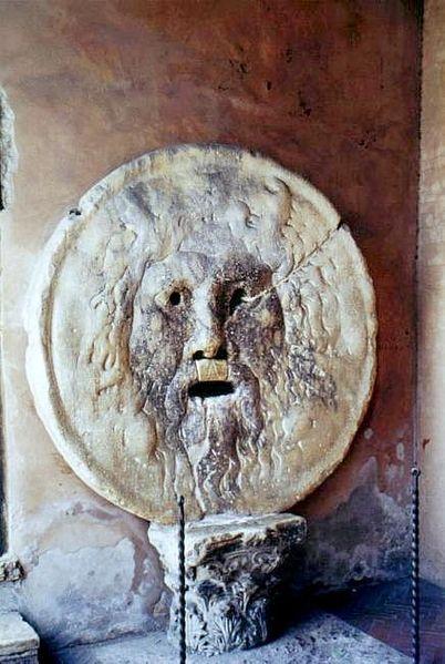 La Bocca della Verità de Santa María del Cosmedín en Roma