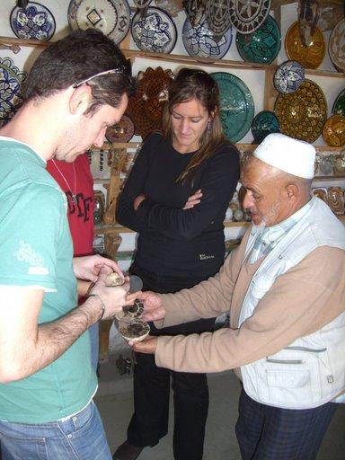 Comprando en Marruecos