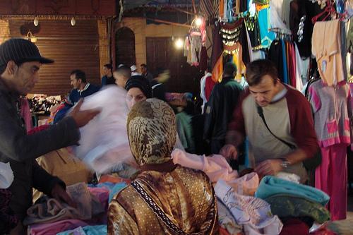 De compras en Marruecos