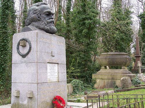 Tumba de Karl Marx @3viajes