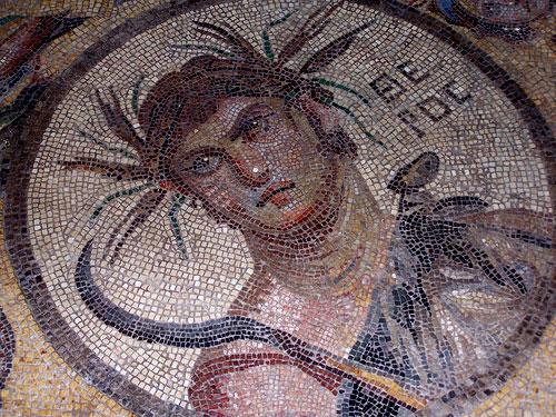 Mosaico romano (Museo de Pérgamo) @3viajes