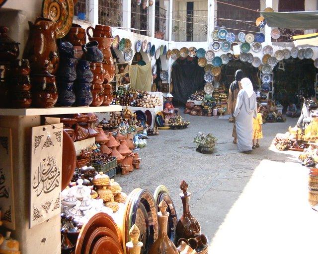 Zoco en Marruecos