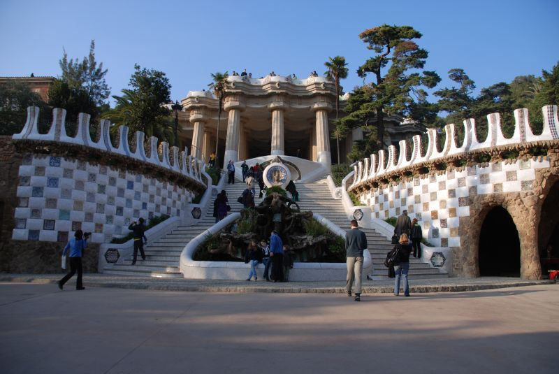 Escalinata del Park Güell