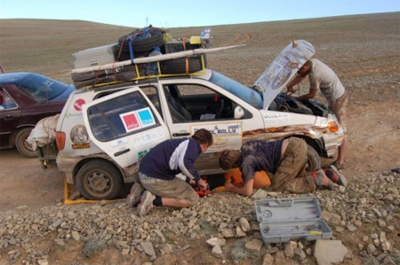 Mongol Rally 2008