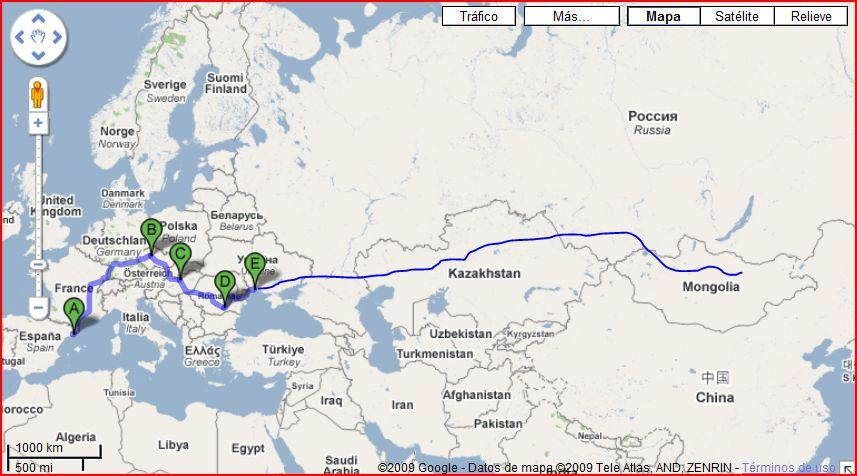 Ruta a Mongolia, segunda parte