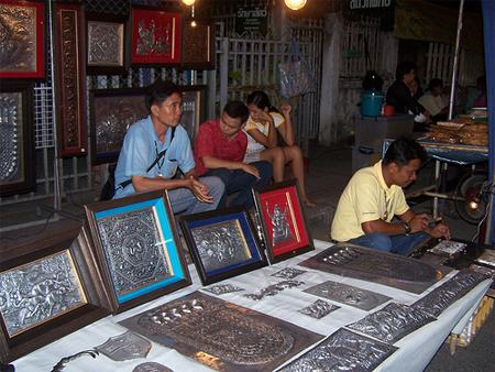 Mercadillos en Tailandia (Chiang Mai) @3viajesaldia