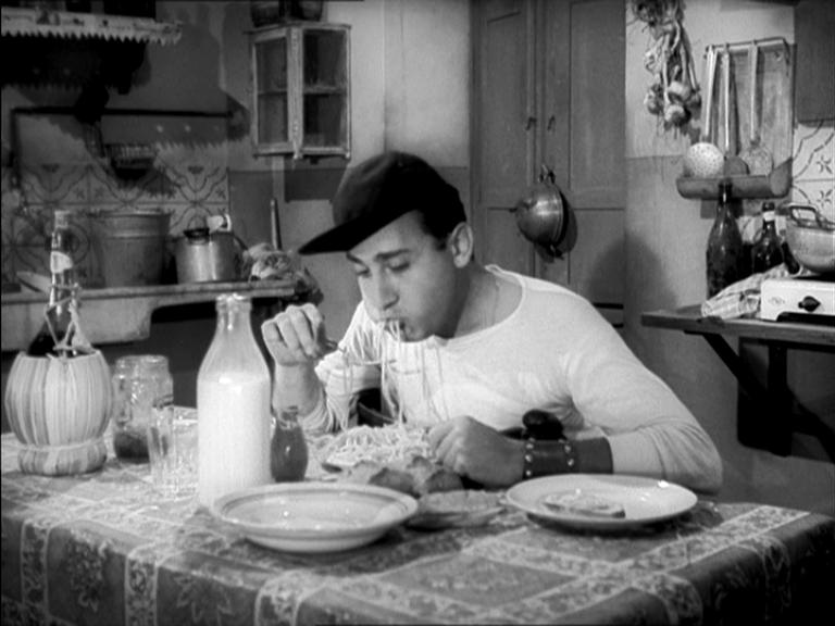 Alberto Sordi en la película Un americano en Roma