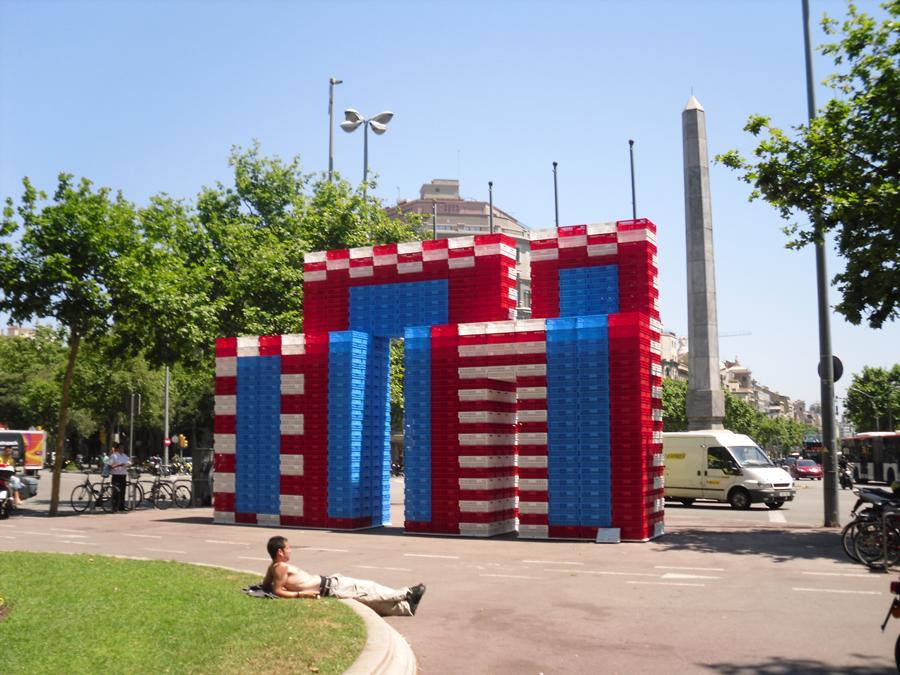 El Arco de Triunfo de Xana en Barcelona