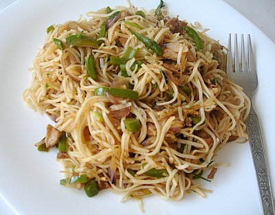 Noodles chinos