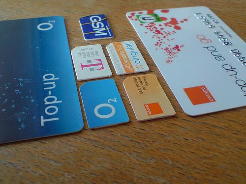 Tarjetas SIM para móviles
