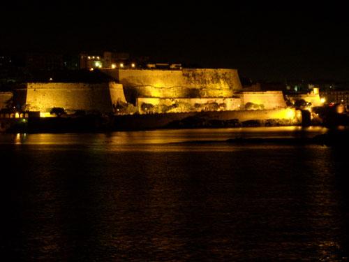 La Valletta, vista nocturna (Malta) @Fernando Pérez