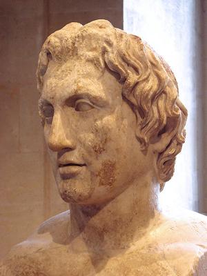 Las facciones de Alejandro Magno