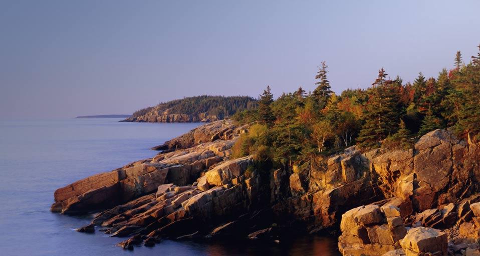 Foto del Bing.com del Parque de Acadia