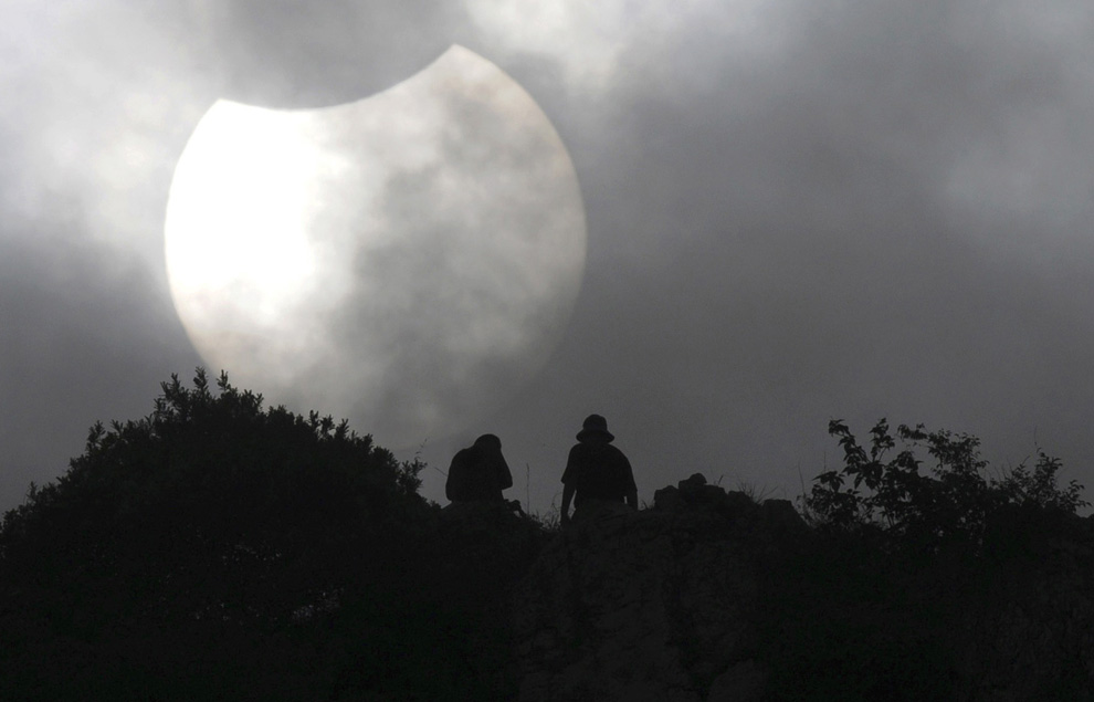 Eclipse en Liuzhou, China