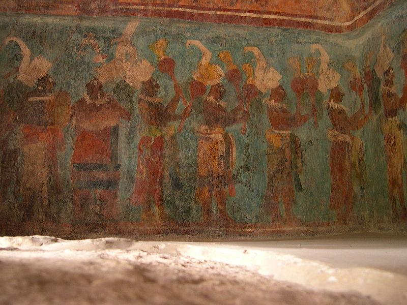 Los frescos de Bonampack
