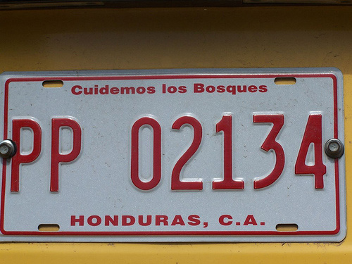 Matrícula de Honduras
