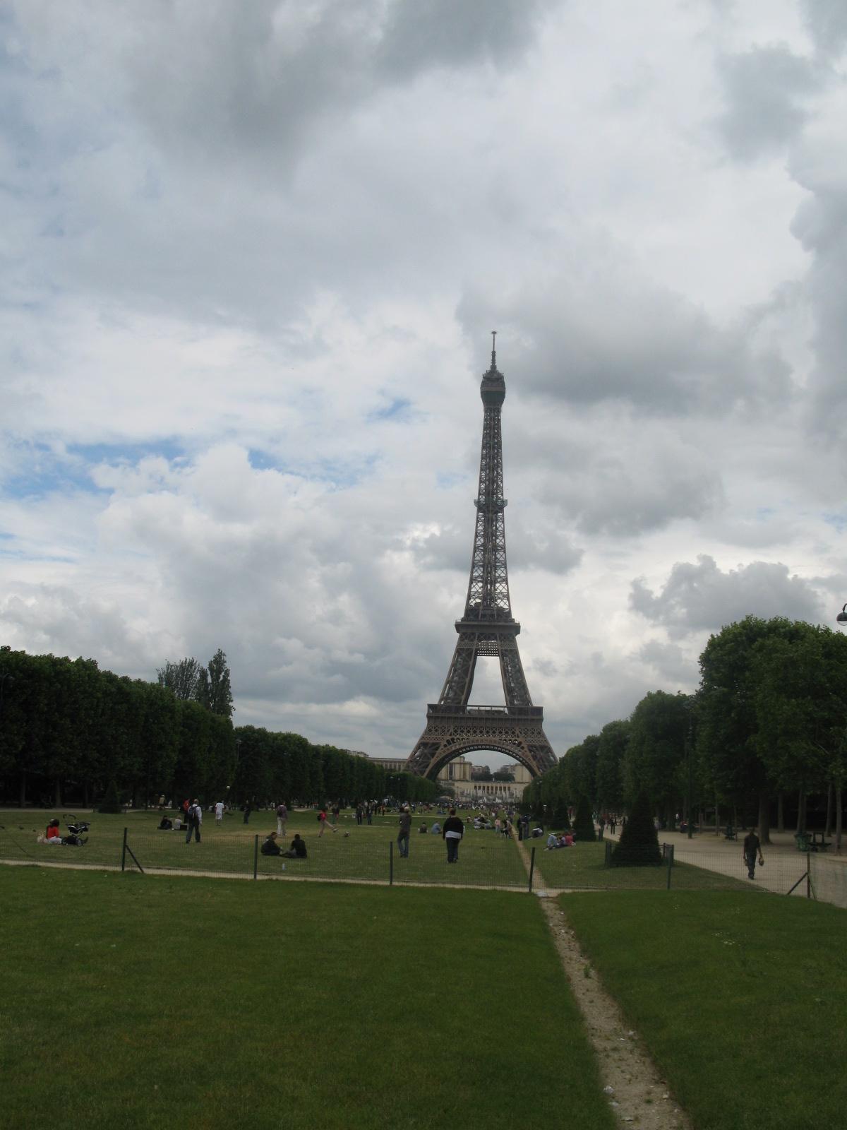 Torre Eiffel desde el Campo de Marte