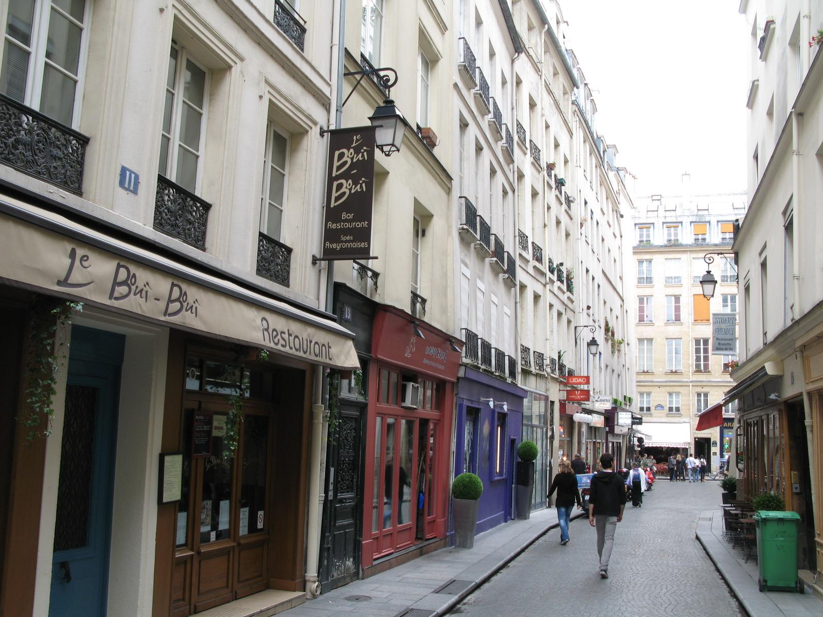 Calles de Les Halles