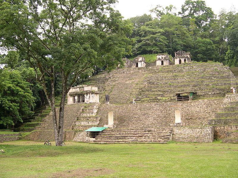Ruinas mayas de Bonampack
